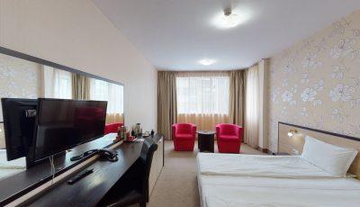 City Avenue Hotel by HMG, Deluxe Double Room 3D Model